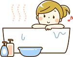 お風呂に入るサッチー